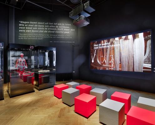 Coated foam, Education, Museum, gecoat schuim, gecoatschuim, furniture, meubels