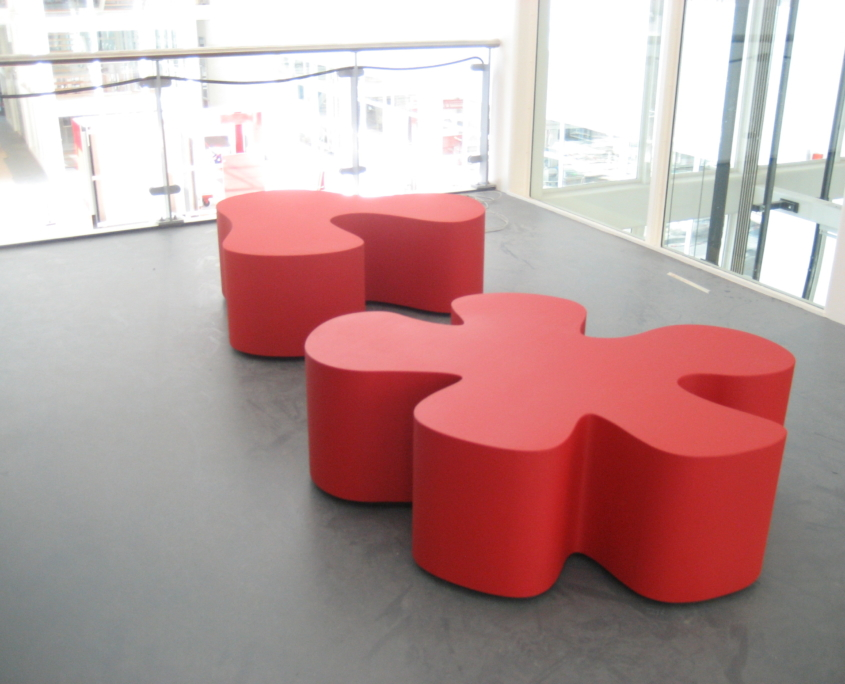 Coated foam, office environment,Public space, publiekeruimte, inrichting wachtruimte, gecoat schuim, gecoatschuim, furniture, meubels