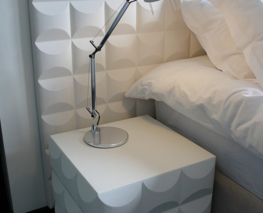 Coated foam, Hotel, Room, Acoustic solution, Wallstix