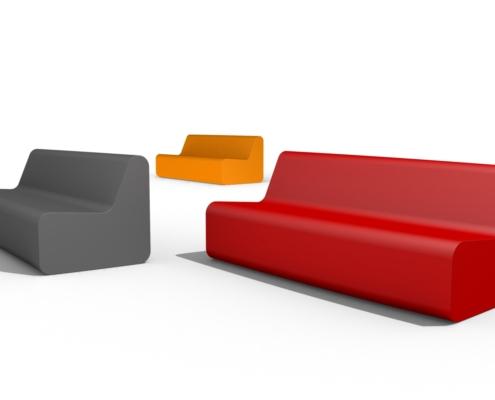Softcorner, coated foam, lounge seating, sofa, chair