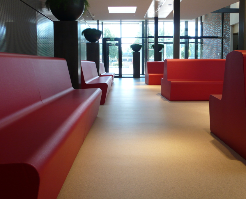 Coated foam, waitingroom, health care, furniture, easy to clean, softseating