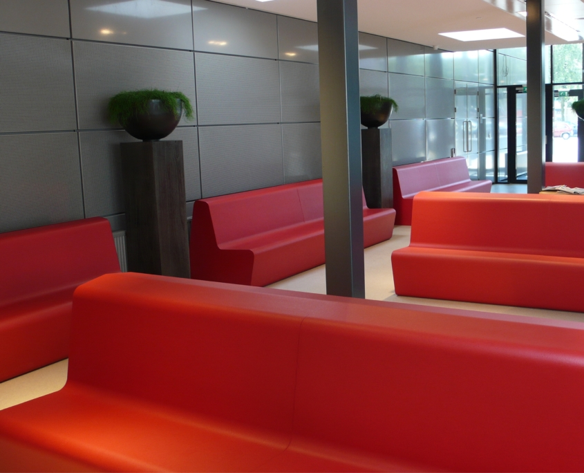 Coated foam, health care, furniture, easy to clean, softseating