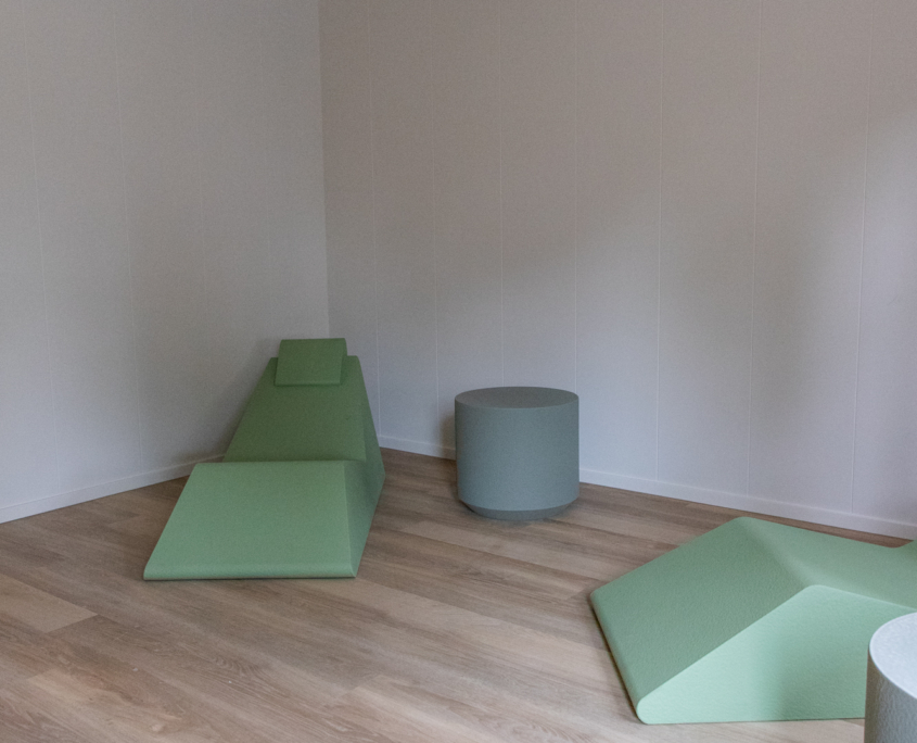 Coated foam, health care, furniture, easy to clean, softseating